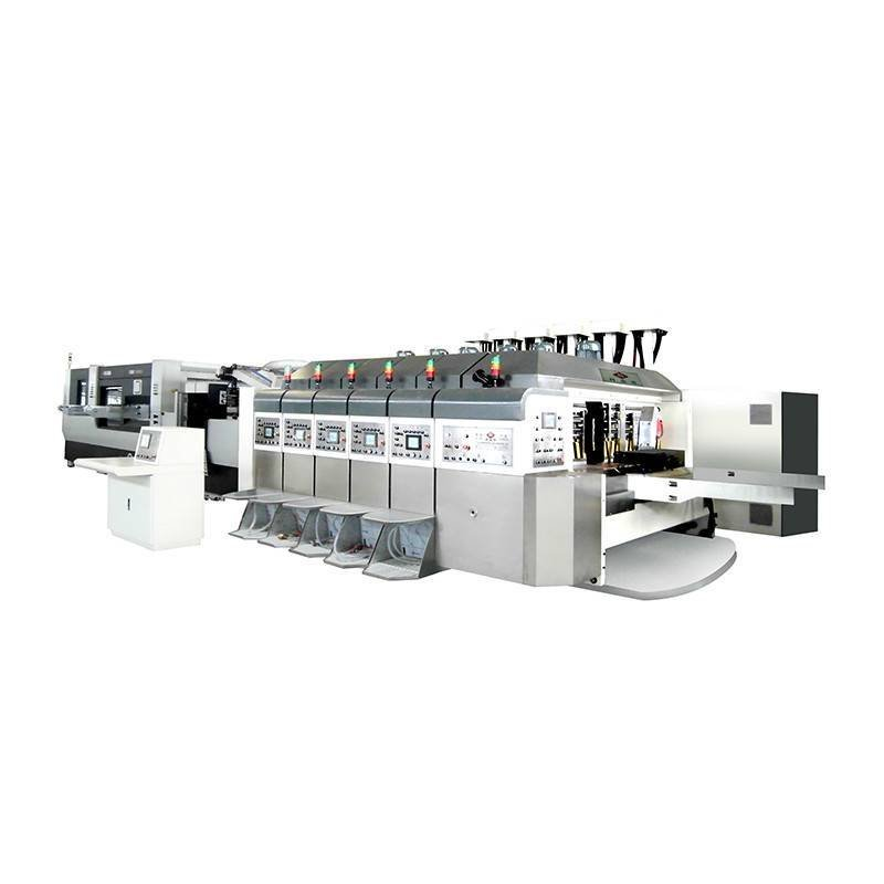 K5 -Computerized Flexo Printing Flat Die-cutting In-Line (Bottom Prlnting)