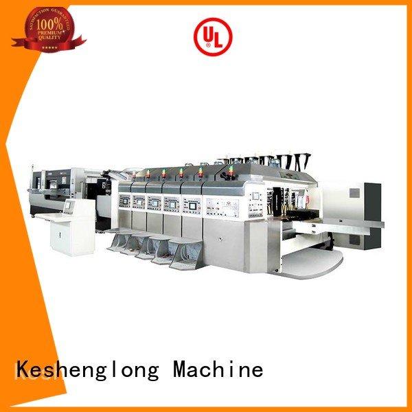 KeShengLong HD flexo printer slotter computerized structure K8-Type fixed