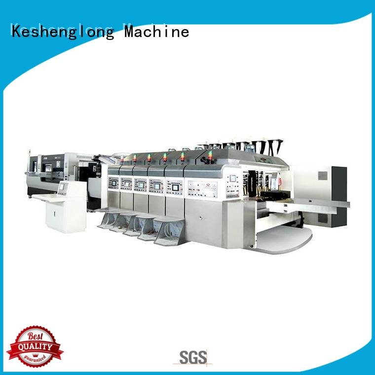 China hd flexo inline top HD flexo printer slotter KeShengLong Warranty