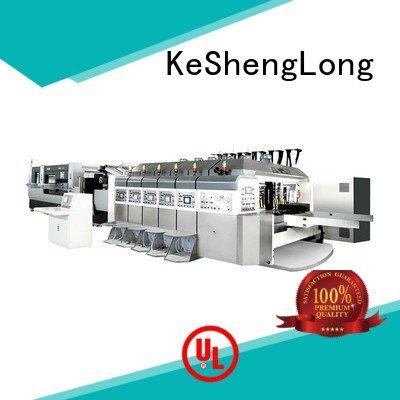 Wholesale flat structure HD flexo printer slotter KeShengLong Brand