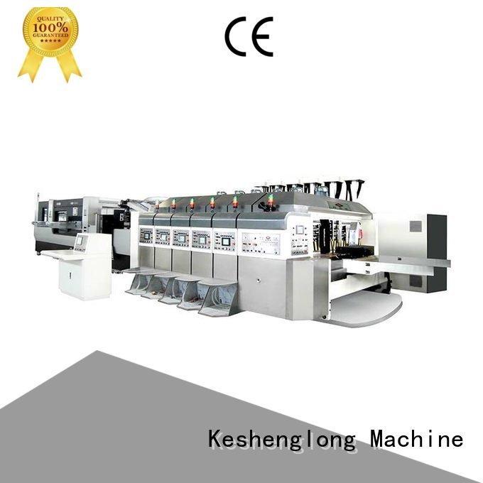 China hd flexo flexo HD flexo printer slotter diecutting KeShengLong
