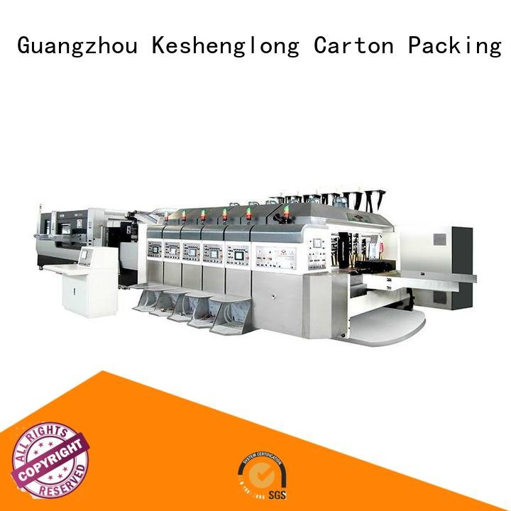 KeShengLong China hd flexo diecutting folding movable