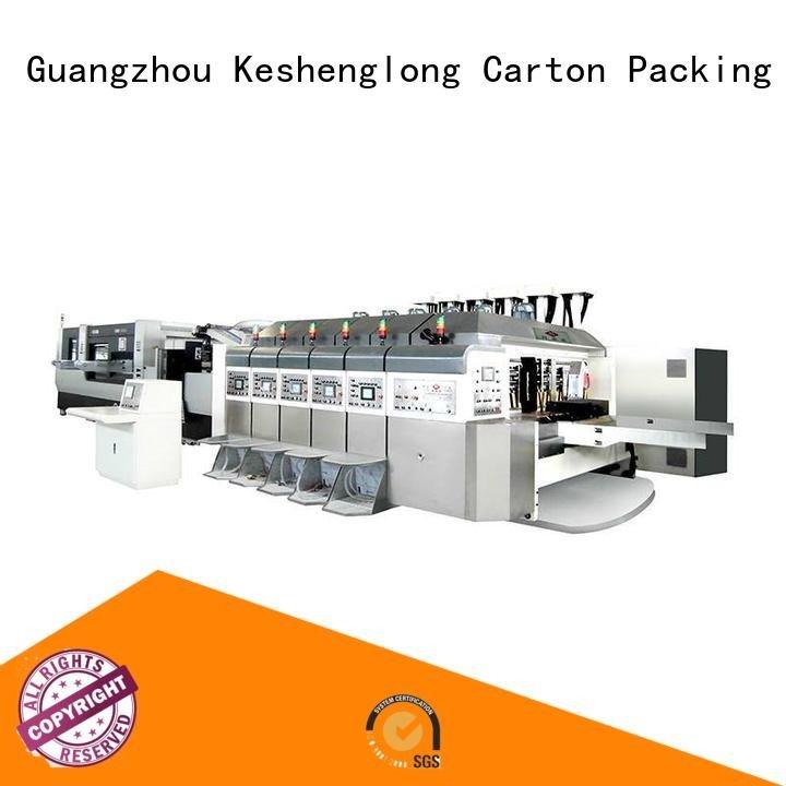 KeShengLong China hd flexo diecutting folding movable