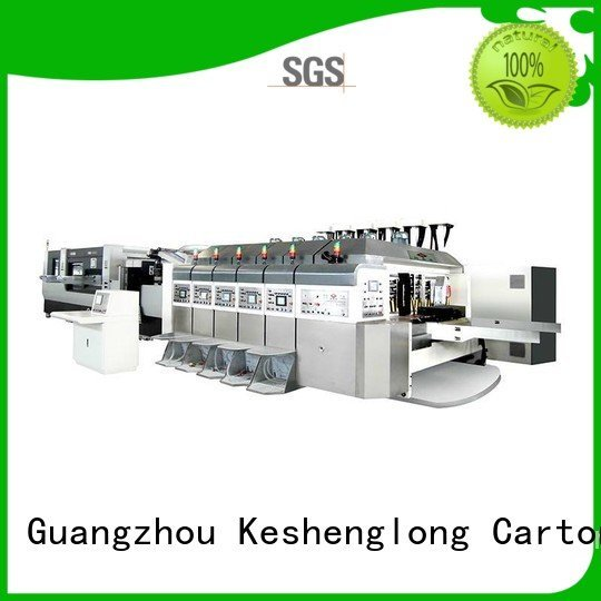 folding gluing cutting KeShengLong China hd flexo