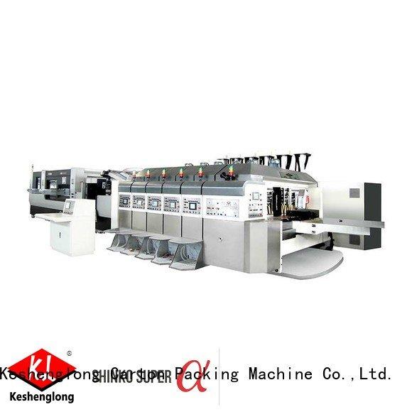 KeShengLong machine HD flexo printer slotter (top bottom
