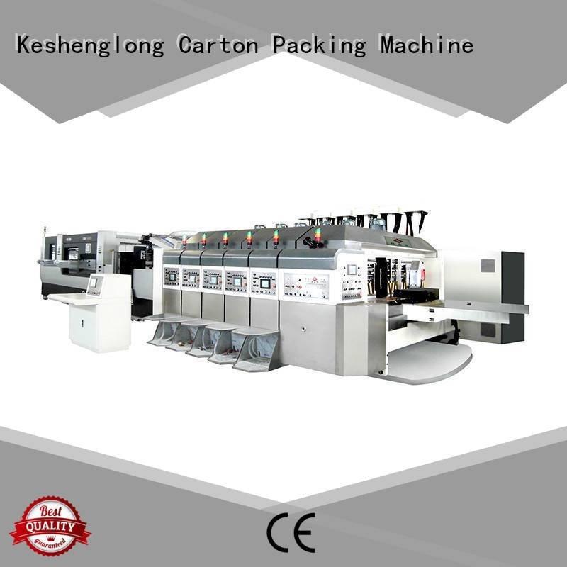 China hd flexo cutting computerized HD flexo printer slotter KeShengLong Warranty
