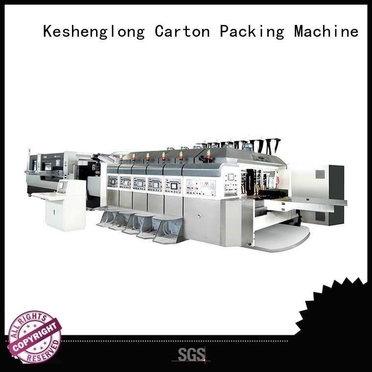 China hd flexo diecutting movable HD flexo printer slotter KeShengLong Brand