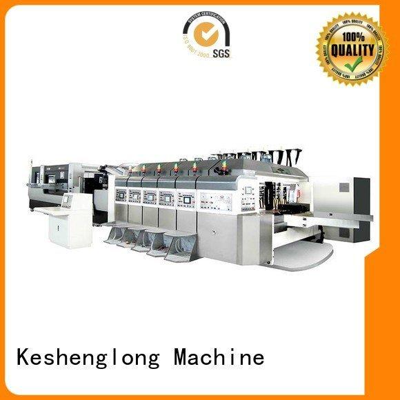 KeShengLong China hd flexo structure slotting automatic top