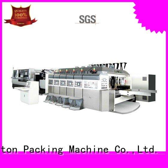 China hd flexo fixed KeShengLong Brand HD flexo printer slotter
