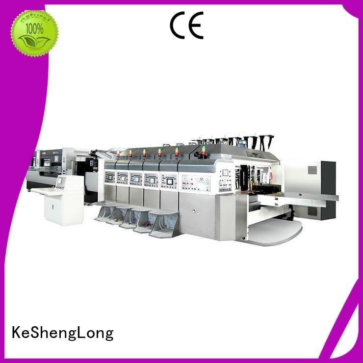 folding slotting control KeShengLong HD flexo printer slotter
