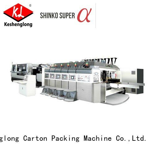 KeShengLong HD flexo printer slotter